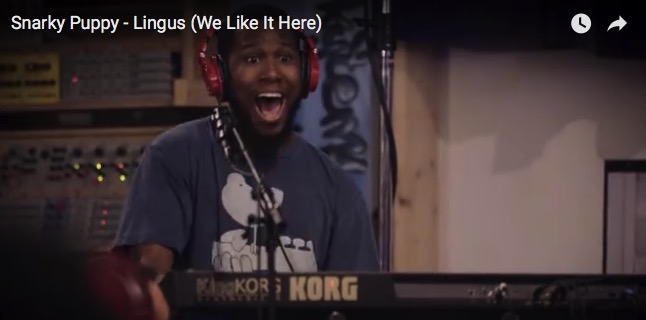 Snarky Puppy Lingus We Like It Here Cory Henry のソロがとにかく